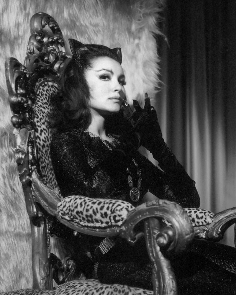 Catwoman Eartha Kitt Julie Newmar Julie Newmar Interview